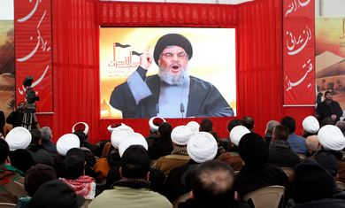 Hezbollah leader Hassan NasrallahIran's plans to take over Syria