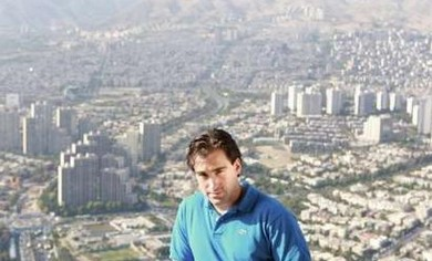 Sean Stone in Iran