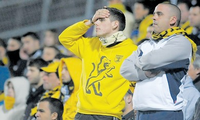 Betar Jerusalem fans lament team's failures