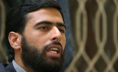 Hamas spokesperson MUSHIR AL-MASRI