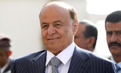 Yemen ipresident Abd-Rabbu Mansour Hadi.