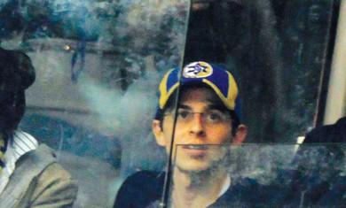 Gilad Schalit at Maccabi TA game