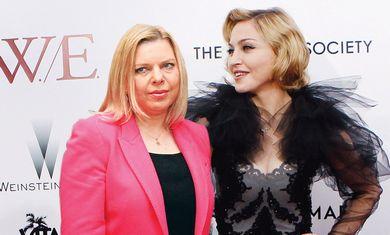 Sarah Netanyahu with Madonna