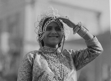 The Queen Esther of the carnival in 1934