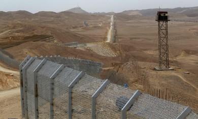 Sinai border fence