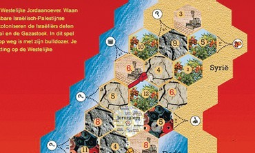 Settlers of the West Bank board game
