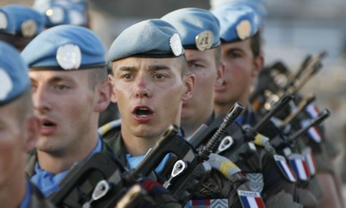 French soldiers in UNIFIL