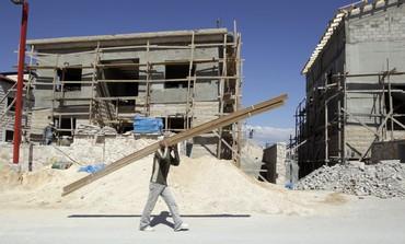 Palestinian laborer in Kedar