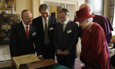 Queen Elizabeth, Vivian Wineman, UK Jewish leaders
