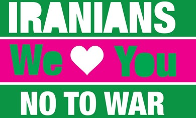 Iranians we love you