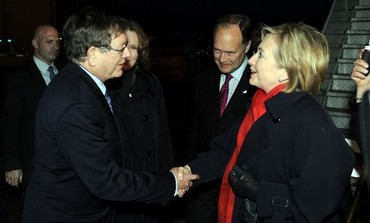 Barukh Binah meets US Sec of State Clinton in 2009