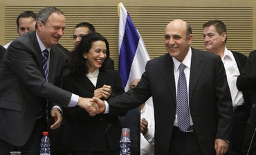 Shaul Mofaz, new Kadima leade