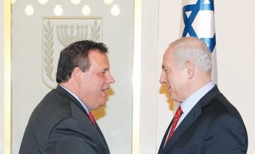 Netanyahu meets NJ Governor Christie