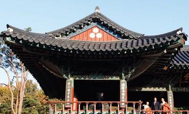 The Bongeunsa temple near Seoul