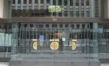 World Bank building entrance