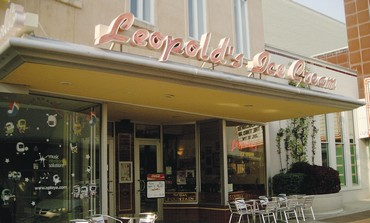 Leopold's Ice Cream Store in Savannah, Georgia