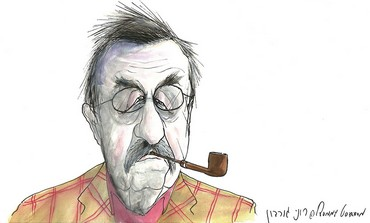 CARTOON OF GÜNTER GRASS