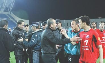 HAPOEL HAIFA'S Ali Khatib