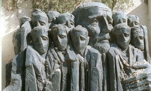 Janusz Korczak memorial at Yad Vashem