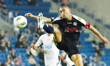 MACCABI PETAH TIKVA striker Omer Golan