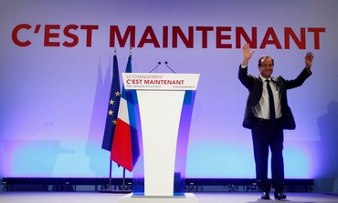 Francois Hollande, Socialist Party candidate
