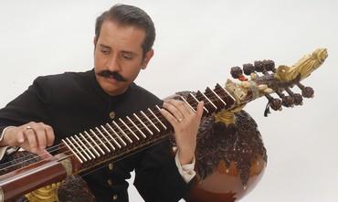 Master musician Ustad Bahauddin Dagar