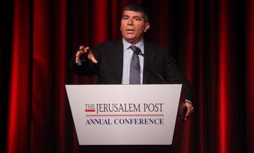 former IDF chief Gabi Ashkenazi at Jpost confab