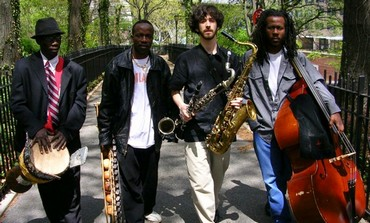 Oran Etkin with his quartet