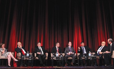 Jpost Conference panel featuring Olmert, Ashkenazi