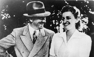 Eva Braun with Adolf Hitler