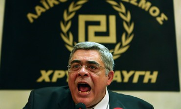 Greece's Golden Dawn leader Nikolaos Mihaloliakos