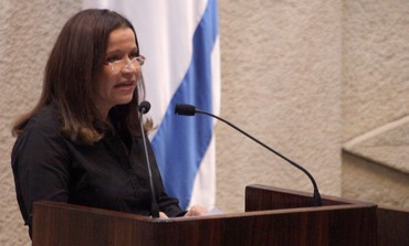 Opposition leader Yacimmovich speaks in Knesset