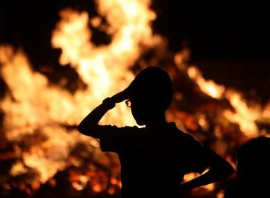 Lag Baomer bonfire