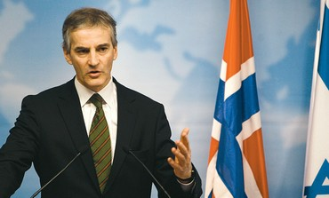 NORWAY'S FOREIGN MINISTER Jonas Gahr Støre