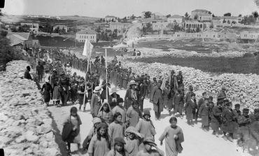 Children's Lag Ba'omer procession