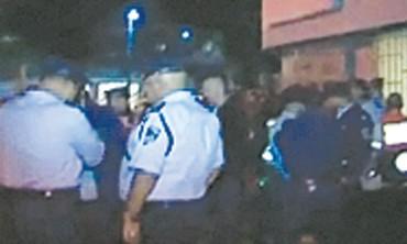 Police at scene of Shoshana Levi's murder