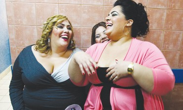Fat and Beautiful pageant in Beersheba, 2011