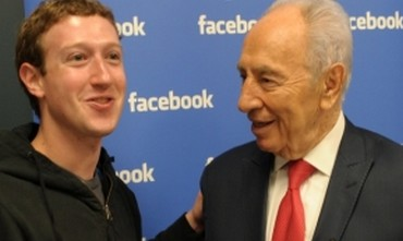 Mark Zuckerberg, Shimon Peres