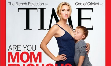 'Time' magazine breastfeeding cover