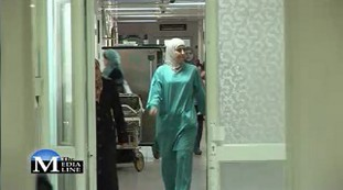 A Doctor in Al-Makassed Hospita