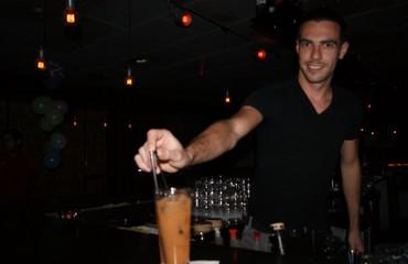 Barman at Evita