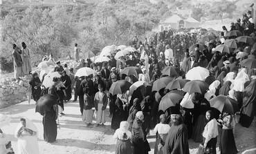 Russian pilgrims in Jerusalem