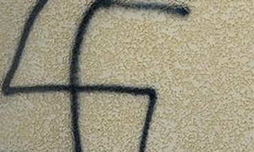 Swastika grafitti (illustrative)