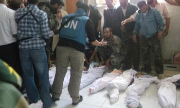 UN observer at scene of Houla massacre