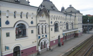 THE VLADIVOSTOK train station