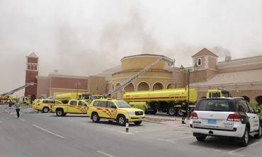 Fire at Doha, Qatar mall
