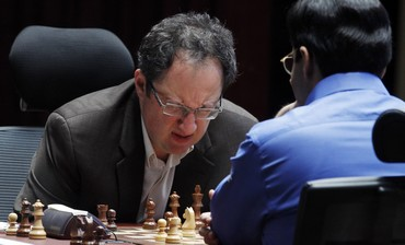 Anand, Gelfand in 12th game
