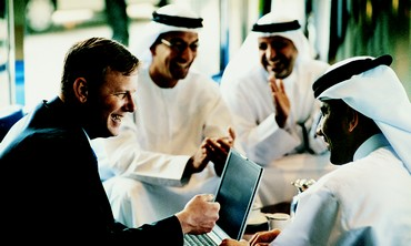 Arab businessmen
