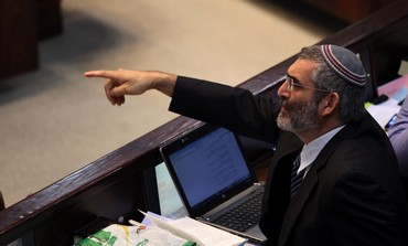 National MK Michael Ben-Ari in Knesset.