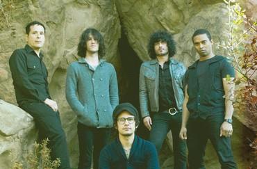 Members of Mars Volta
